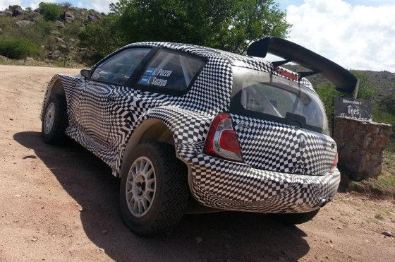 Renault Clio Mío Maxi Rally - Foto: Gabriel Pozzo