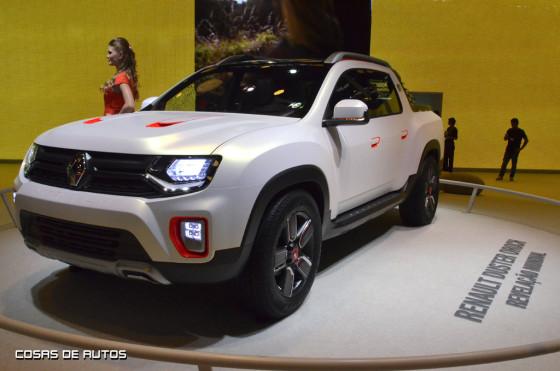 Renault Duster Oroch en Salón de San Pablo