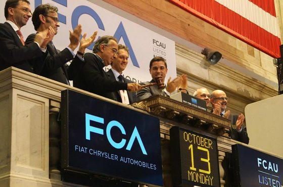 Se completó la fusión que da vida a FCA, Fiat Chrysler Automobiles N.V. y debutó en la Bolsa