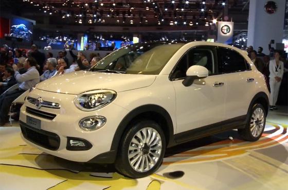 Fiat 500X en el Salón de París 2014