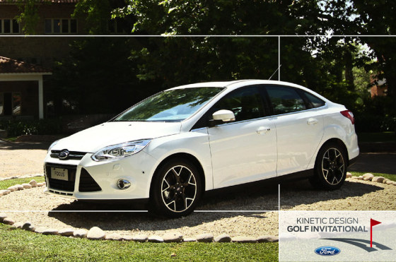 Autos y golf: el Focus será protagonista del cuarto Major Series del Ford Kinetic Design Golf Invitational