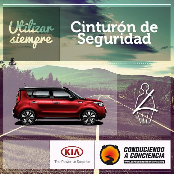 """Seguridad Vial: Kia Argentina nuevamente junto a """"Conduciendo a Conciencia"""""""