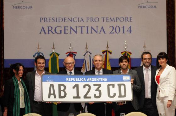 Nueva Patente Mercosur