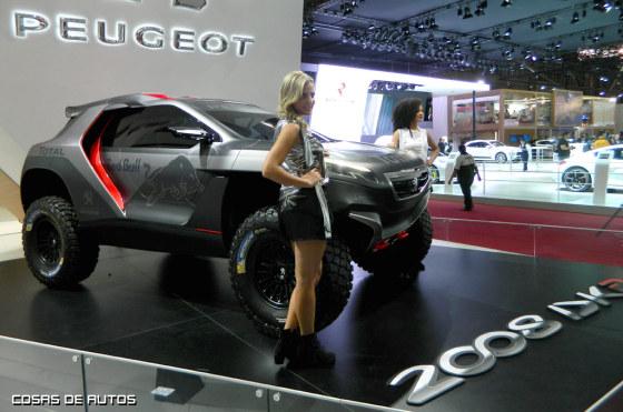 Peugeot 2008 DKR en el Salón de San Pablo