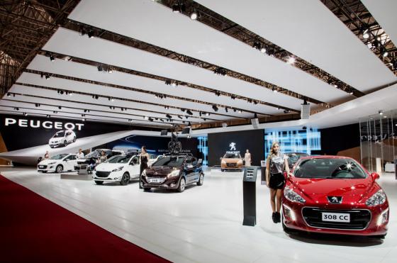 Stand de Peugeot en el Salón de San Pablo 2014