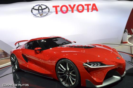 Toyota FT-1 en el Salón de San Pablo