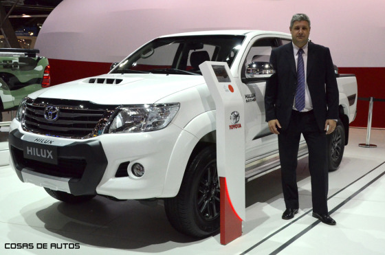Juan Pablo Grano, responsable de marketing de Toyota Argentina
