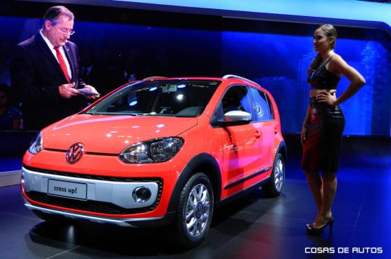 El VW cross up! se presentó en San Pablo