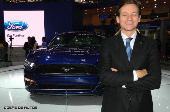 Sebastián Trotta, gerente de Comunicaciones de Ford Argentina