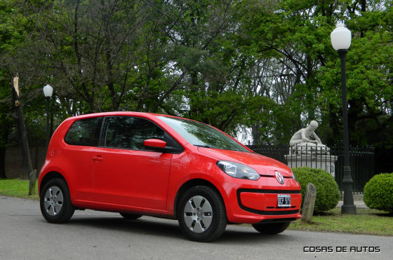 #Test del Volkswagen up! - Foto: Cosas de Autos