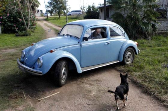 El VW Fusca de Pepe Mujica
