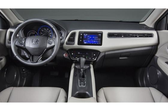 Interior de la Honda HR-V