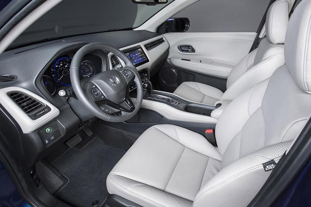 Video y fotos as es el interior de la honda hr v que se for Honda hr v interieur