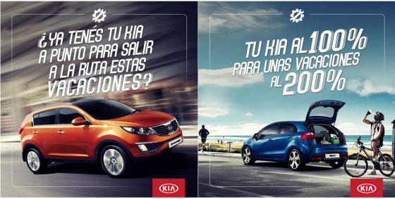 Posventa: Kia Argentina lanza una promo previa a las vacaciones