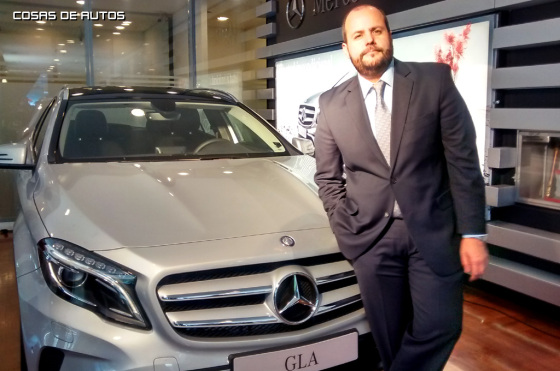 Entrevista a Gustavo Castagnino, de Mercedes-Benz Argentina