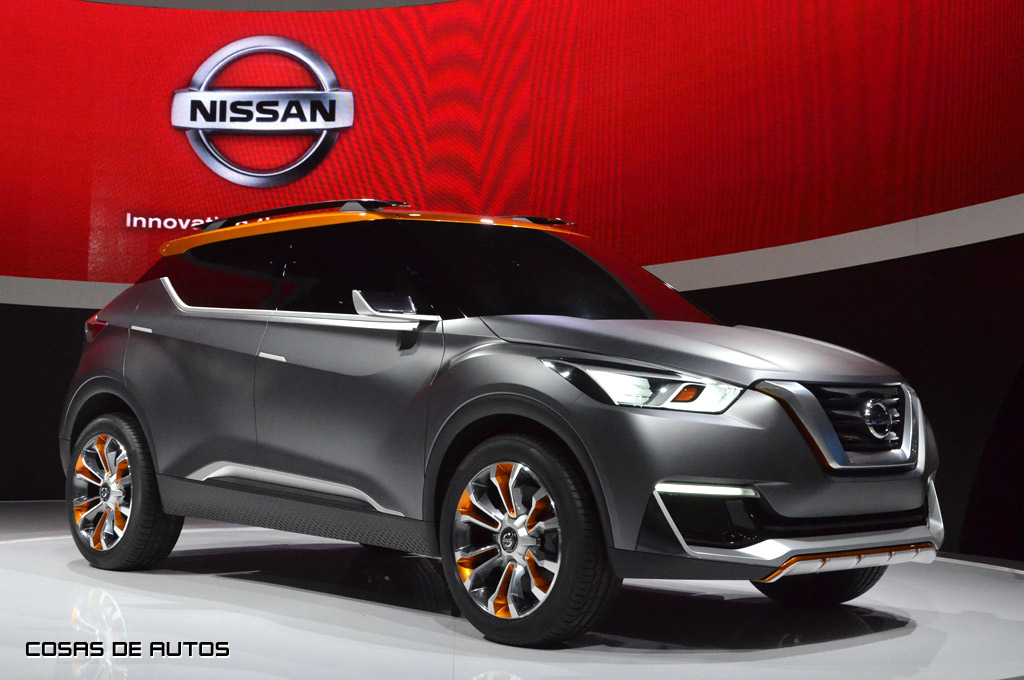 Nissan Kicks Concept En El Salón De San Pablo 2017