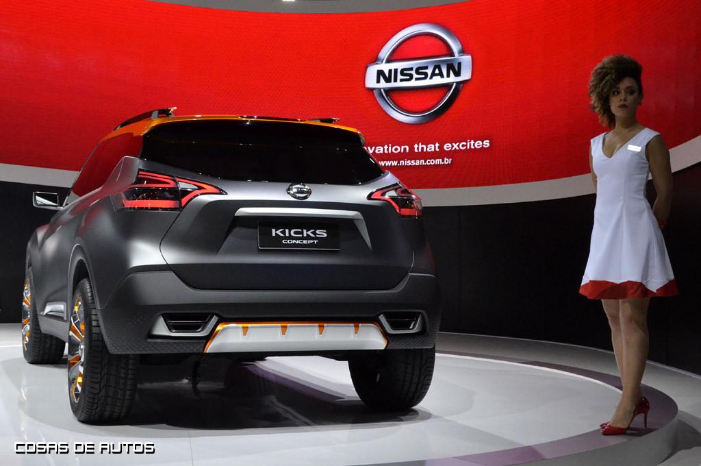 Nissan Kicks Concept en el Salón de San Pablo 2014