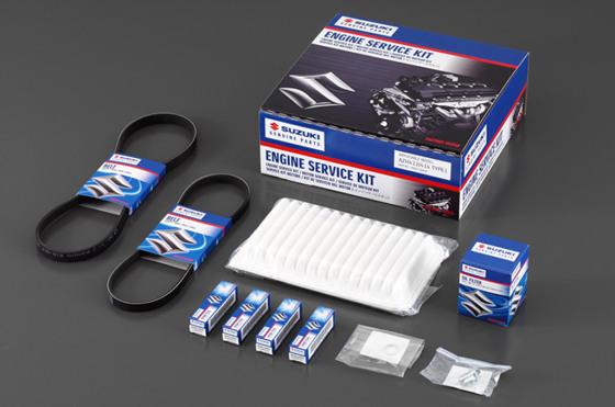 Suzuki lanza los kits de repuestos originales