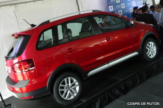 Volkswagen presentó el Nuevo Suran