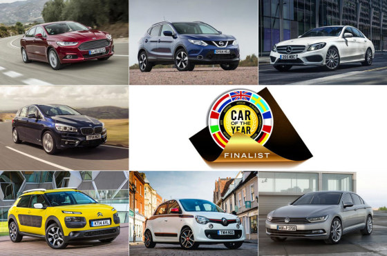 Car of the Year 2015: ya están los 7 finalistas
