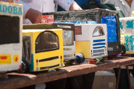 RSE: Fiat organizó una feria de productos reciclados hechos por chicos
