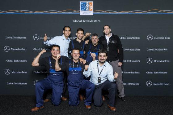 #Posventa: un técnico argentino de Mercedes-Benz se consagró campeón en Alemania