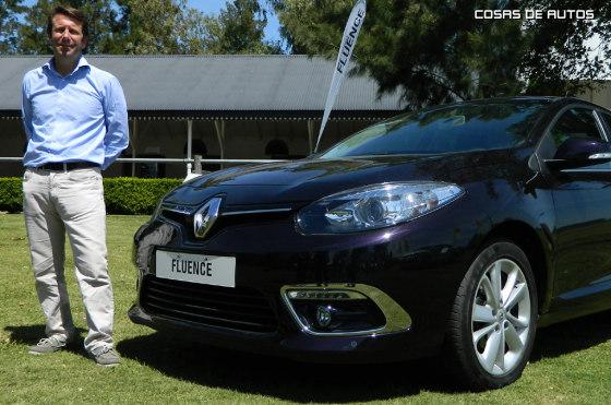 Laurent Diot, Gerente de Marketing de Renault Argentina