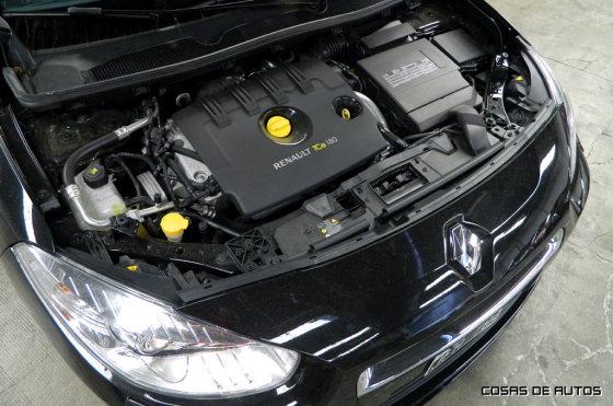 Motor del Renault Fluence GT