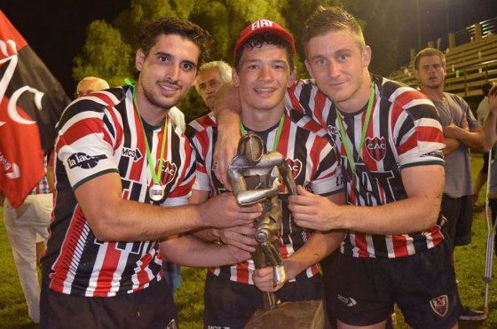 Autos y rugby: Córdoba Athletic se coronó campeón del Seven de la Pava y se llevó el Trofeo Fiat