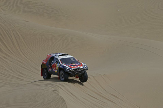 #Dakar 2015: Team Peugeot Total