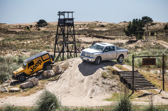 Off Road Park de Jeep y RAM