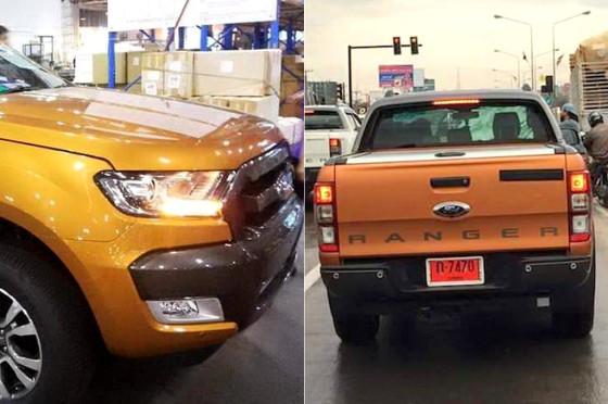Ford Ranger 2016 en pruebas en Australia