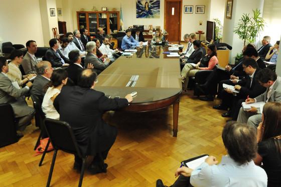 Giorgi se reunión con representantes de ADEFA
