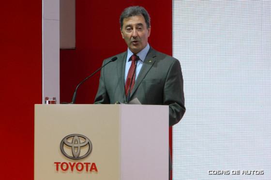 Daniel Herrero, presidente de Toyota Argentina.
