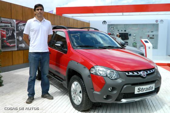 Ricardo Sarni, brand manager de Fiat en ExpoAgro