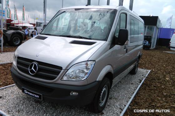 Mercedes-Benz Sprinter 9+1 en ExpoAgro