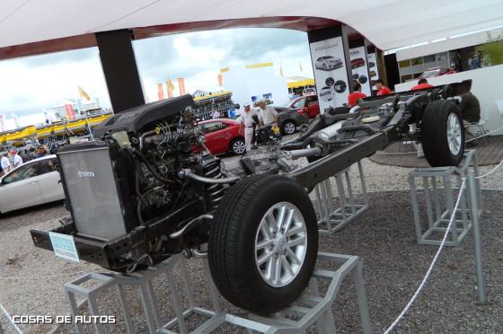 Stand de Toyota en ExpoAgro 2015