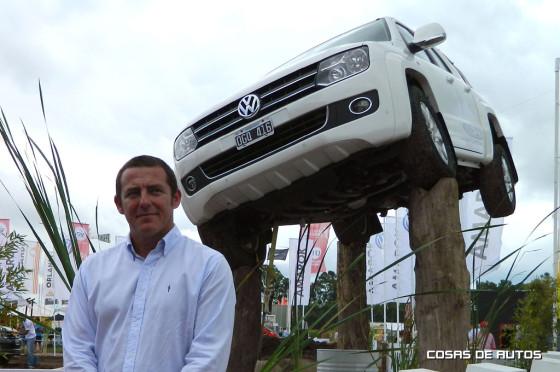 Enrique Agüero, gerente de Vehículos Comerciales Livianos de VW Argentina