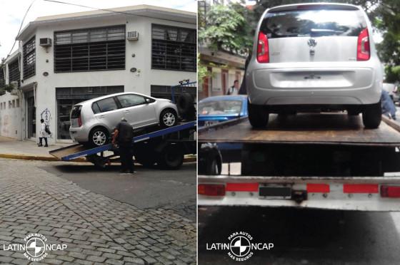 El VW up! en los test de LatinNCap