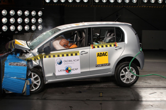 El VW up! en los test de LatinNCap