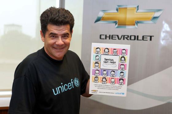 Julián Weich, embajador de UNICEF