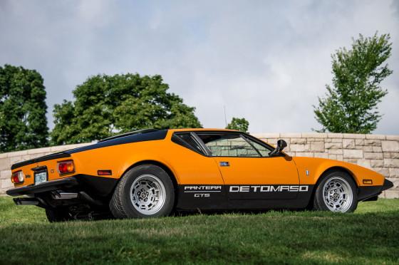 De Tomaso Pantera GTS, uno de los modelos más recordados de la marca.