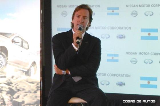 José Luis Valls, CEO de Nissan Latam
