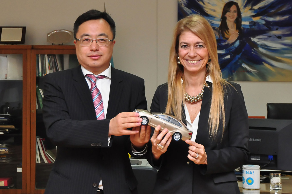 Oficial: la automotriz china Brilliance quiere instalarse en Argentina