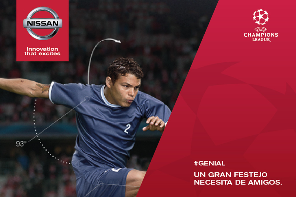 Nissan invita a los fanáticos a la final de la Champions League