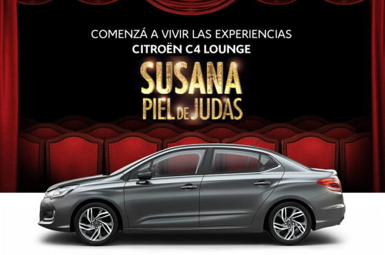 Citroën te lleva a ver a Susana desde un palco exclusivo