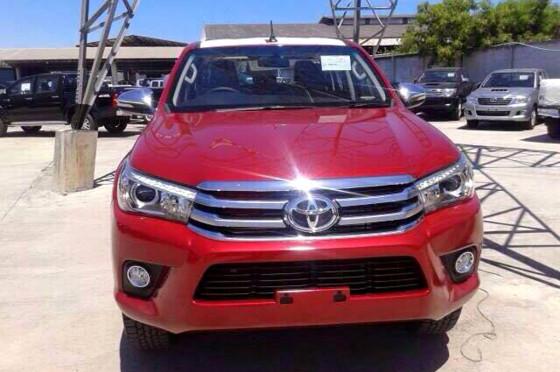 Nueva Toyota Hilux Revo