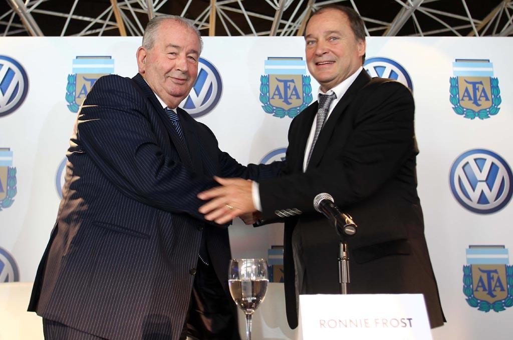AFA y VW firmaron el contrato en 2011