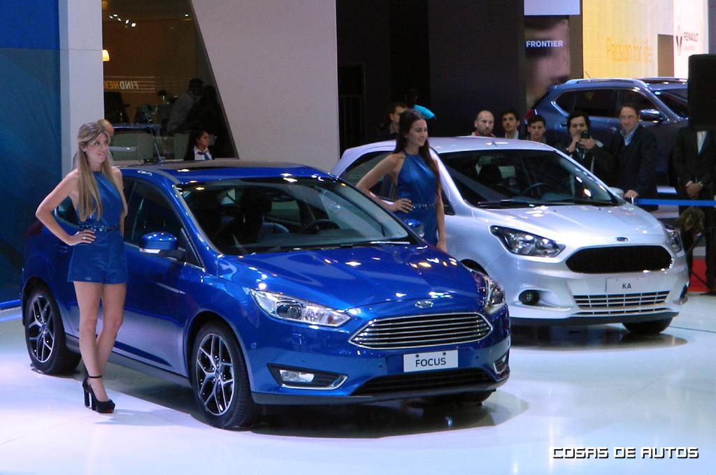 Stand de Ford en el Salón de Buenos Aires 2015