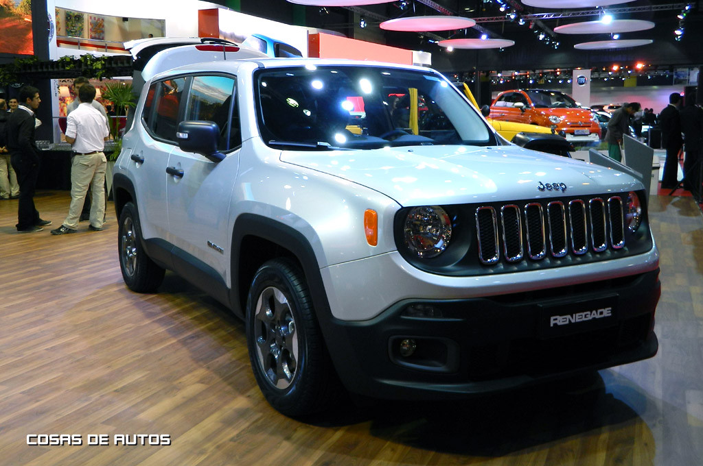 Jeep Renegade en el Salón de Buenos Aires